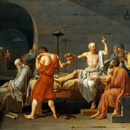 Socrates Prepares to Drink Hemlock